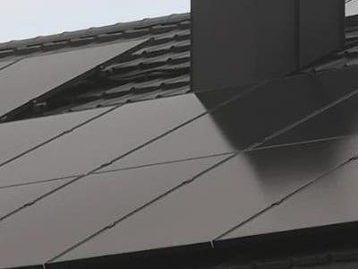 dachowe baterie słoneczne